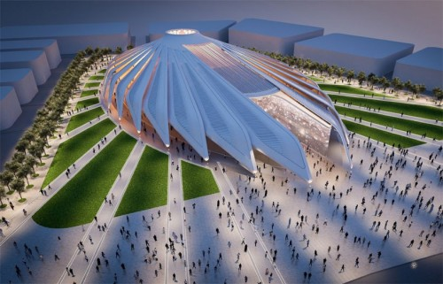 Work starts on Dubai 2020 Expo pavilion centrepiece