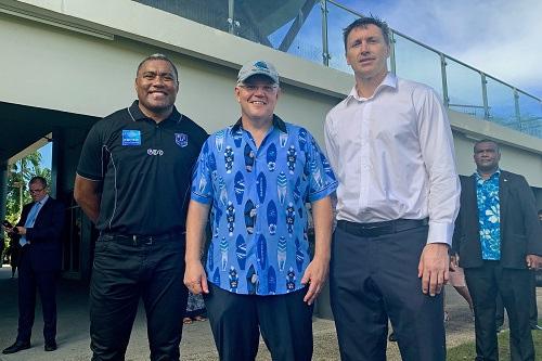 Australian Government supports rugby league development in Fiji