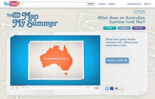Map Of Australia Youtube.Screen Australia And Youtube Map The Australian Summer