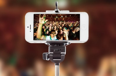Promoters and venues look to ban selfie sticks