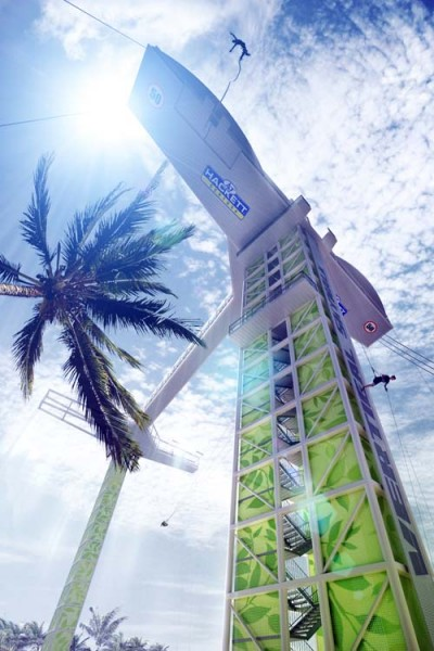 Construction starts on Singapore's first bungy tower