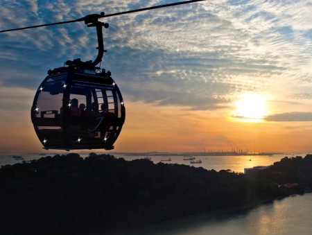 New cable car service to help visitors get around Singapore's Sentosa Island