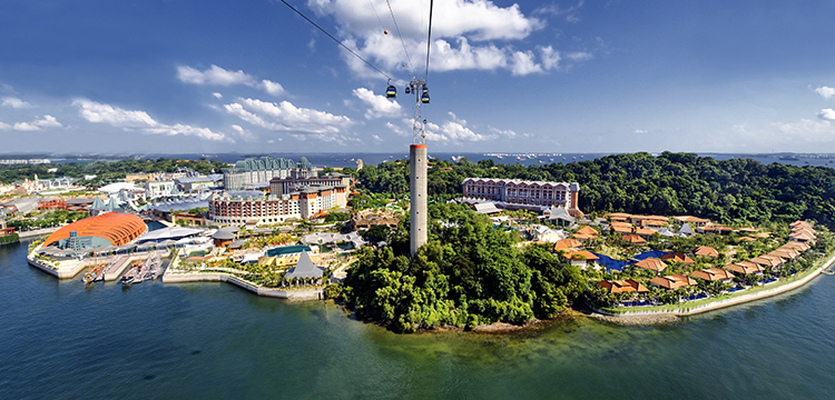 Singapore Government plans Sentosa Island redevelopment to become 'Southern Gateway of Asia'