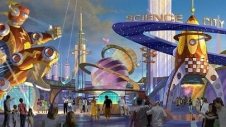 More than 50 theme parks under development in China