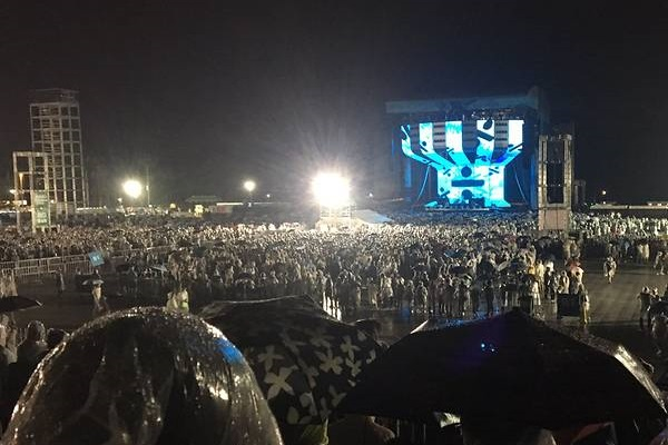 Ed Sheeran's second Hong Kong concert cancelled due to lightning storm