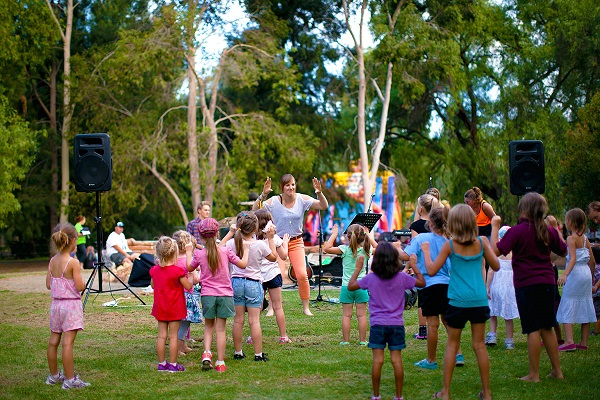 Greater Shepparton City Council: EOI for new Activities in the Park facilitators