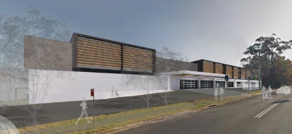Construction underway on Shoalhaven Indoor Sports Stadium