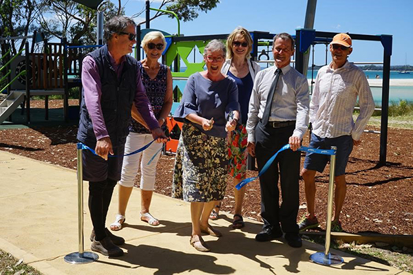 New playground and outdoor fitness station unveiled in Shoalhaven