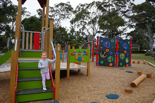 Shoalhaven Council opens new inclusive playground