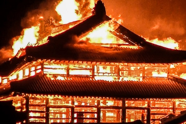 Japan's Shuri Castle attracts funds for rebuilding as crisis response to fire slammed