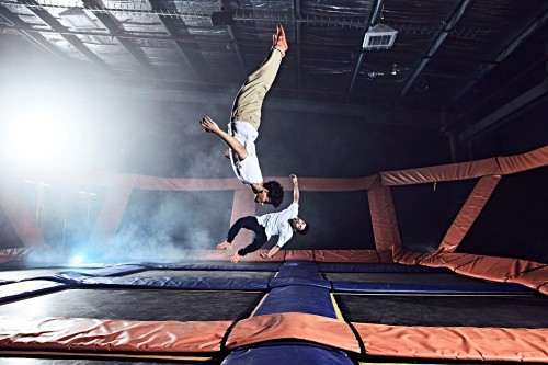 Sky Zone opens largest trampoline park in the southern hemisphere
