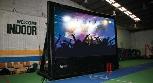 Entertainment package to make indoor parties easy