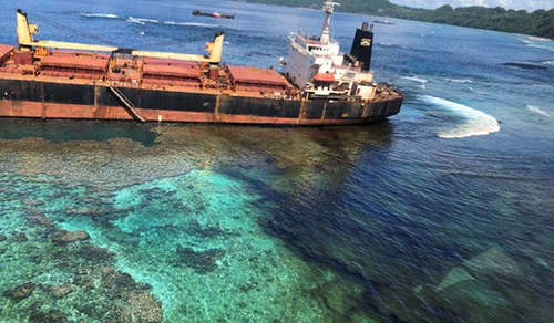 Concerns over oil spill impact on Solomon Islands' World Heritage sites