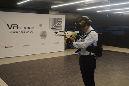 Virtual reality 'theme park' opens in Seoul