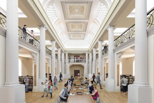 Designs revealed for State Library of Victoria renovation