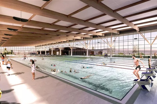 Construction of ACT's Stromlo Leisure Centre underway