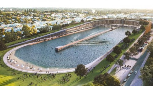 Plans for surf park on site of Domain Stadium