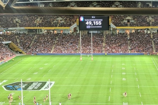 Suncorp Stadium's State of Origin crowd gains global acclaim
