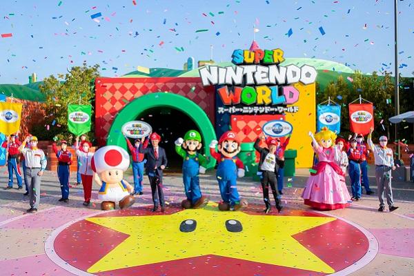 Super Nintendo World expansion opens at Universal Studios Japan
