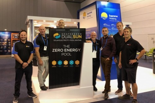 Supreme Heating and DualSun launch 'zero energy pool' hybrid solar panel