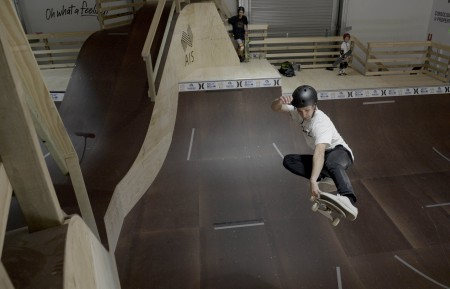 Skateboard facility to help elite surfers develop their aerial skills