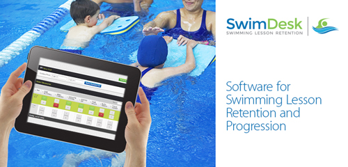 Software aids communication with parents about their children's swimming lesson progression