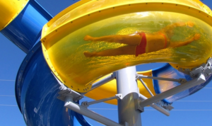 Swimplex installs Polin waterslide at Nobby Beach Holiday Village