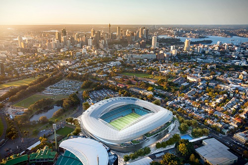 Cox Architecture announced as winning designer for new Sydney Football Stadium