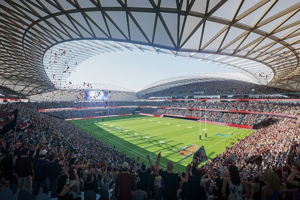 SCG and Sydney Roosters agree 25-year Stadium partnership