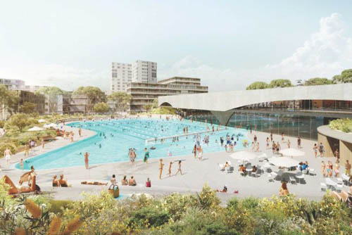 Landmark Sydney aquatic centre set to open in 2020