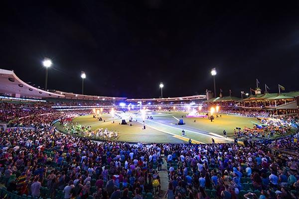 Sydney Cricket Ground hosts safe and spectacular Mardi Gras event