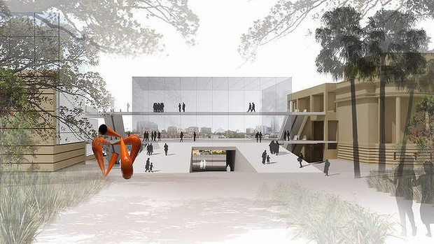 Art Gallery of NSW's expansion to suffer from lack of funds?