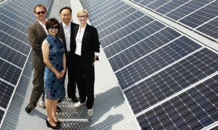 Sydney Theatre Company launches rooftop solar power system