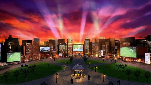 Images revealed of plans for new Sydney theme park