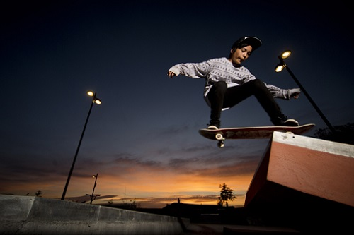 Unison lights up new Hastings Skate Park