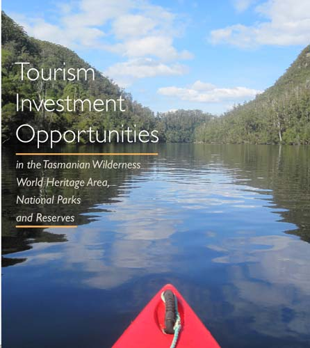 Tasmania looks to boost tourism in its natural areas