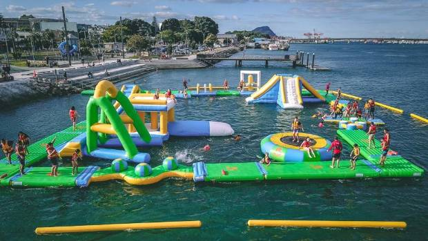 Lifeguards 'did their job' in Tauranga inflatable water playground incident