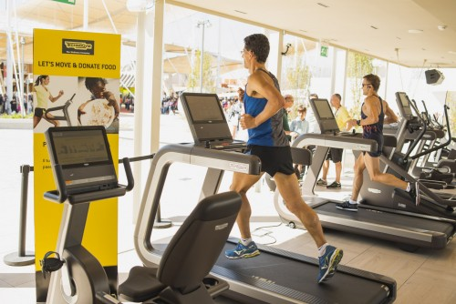 New world record set on Technogym treadmill