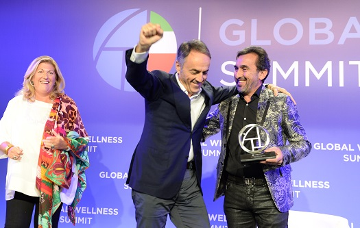 Leaders and emerging entrepreneurs in wellness recognised at 2018 Global Wellness Summit
