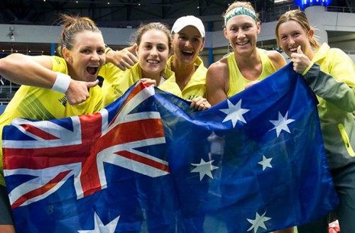 Pat Rafter Arena to gain clay court surface for Fed Cup clash