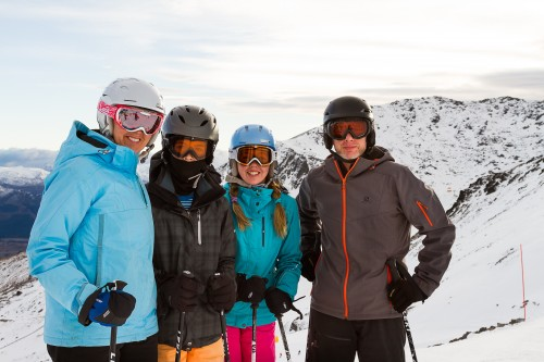 Snow and fun mark season opening at The Remarkables ski area