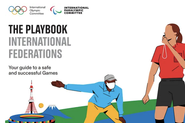 Tokyo Olympics and Paralympics Playbook rules aim to safeguard against Coronavirus