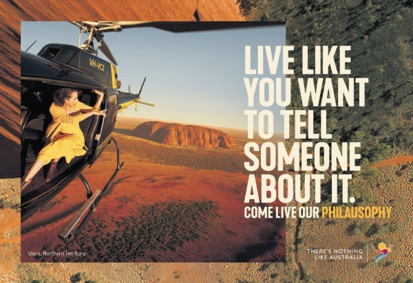Tourism Australia launches new campaign 'Come Live our Philausophy'