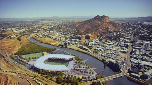 Planned new Townsville Stadium not financially viable
