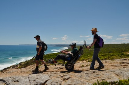 Trailrider allows wheelchair-bound Australians to go hiking