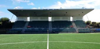 Australia's first Fieldturf Revolution playing surface unveiled at Cromer Park