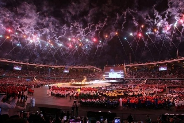 Special Olympics World Games open in Abu Dhabi