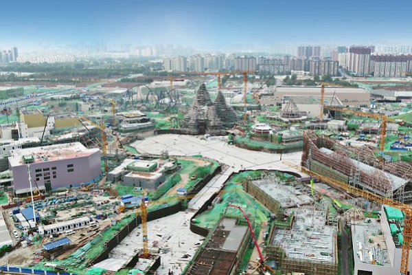 Universal Beijing Resort on target to open 'on time and on budget'
