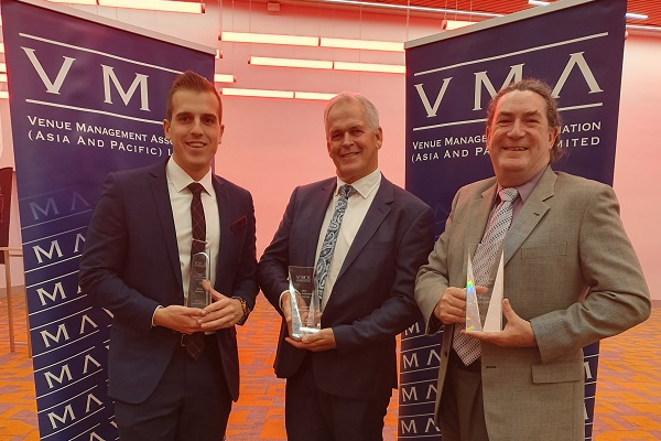 Professional achievements acknowledged at 2019 Venue Industry Awards