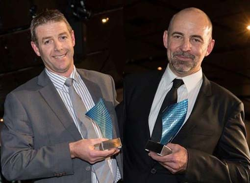 Steve Hevern and Wayne Middleton win VMA Professional of the Year awards